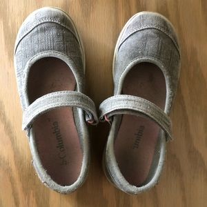 Columbia Canvas Mary Janes
